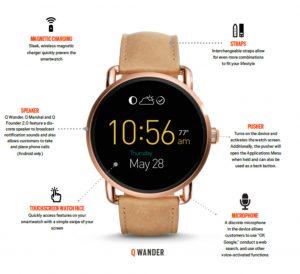 fossil-smartwatch Funktionen