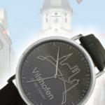 Die neue Vilshofen-Uhr